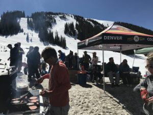 hawks on the rocks day at arapahoe basin